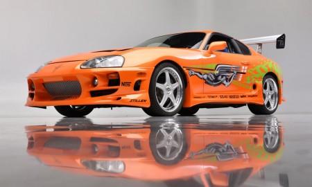 """Toyota Supra z """"Szybkich i wściekłych"""" sprzedana na aukcji"""