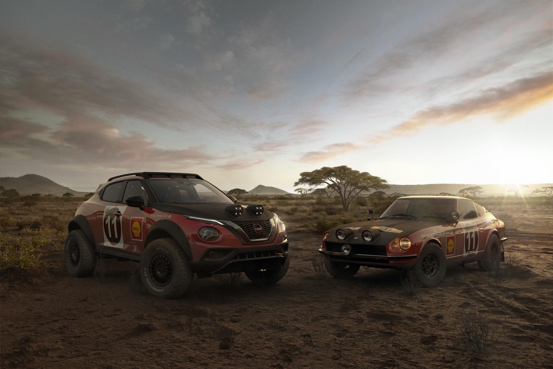 Nissan Juke Rally Tribute Concept – Nissan świętuje