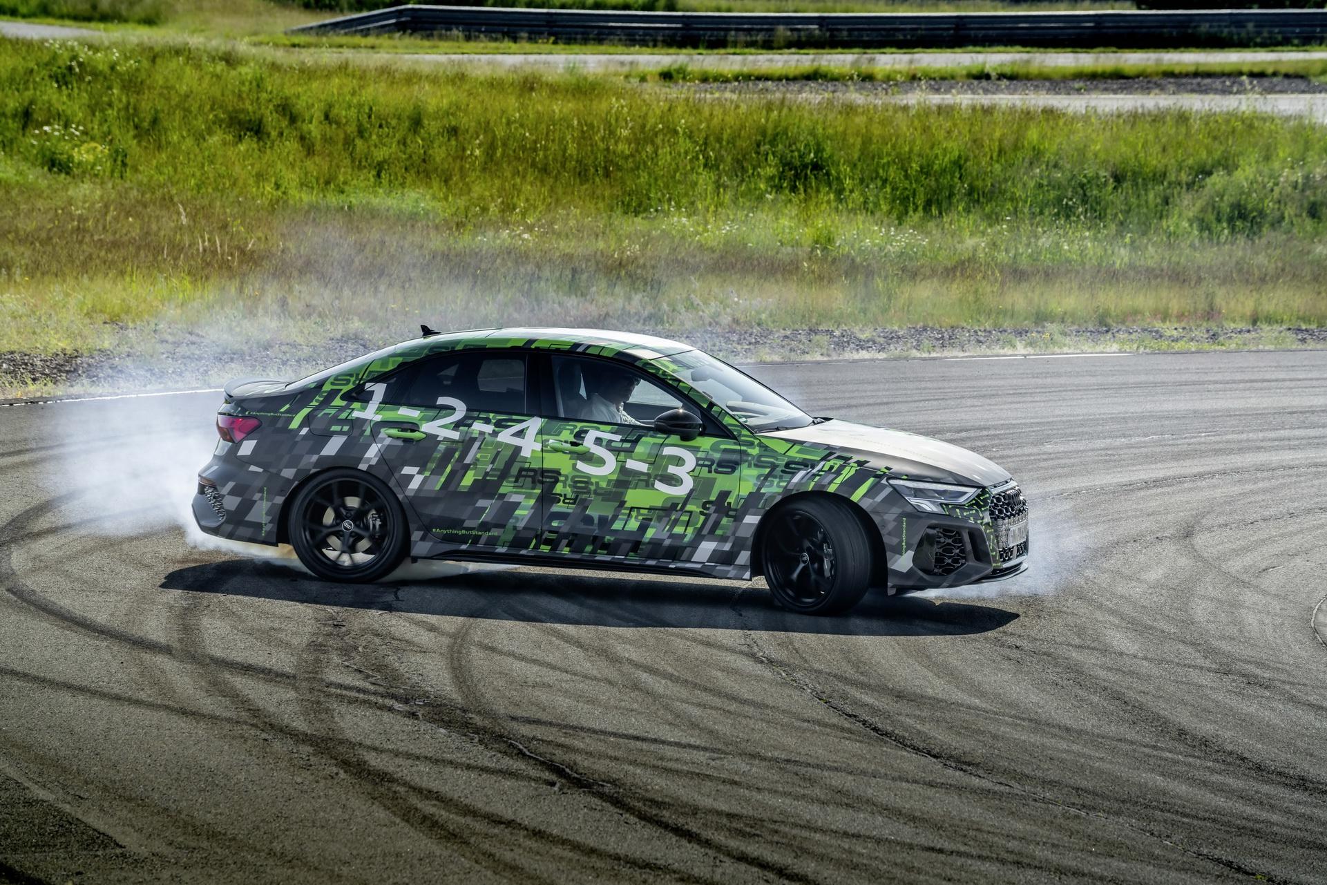 Audi RS3 – Bardziej zwinne