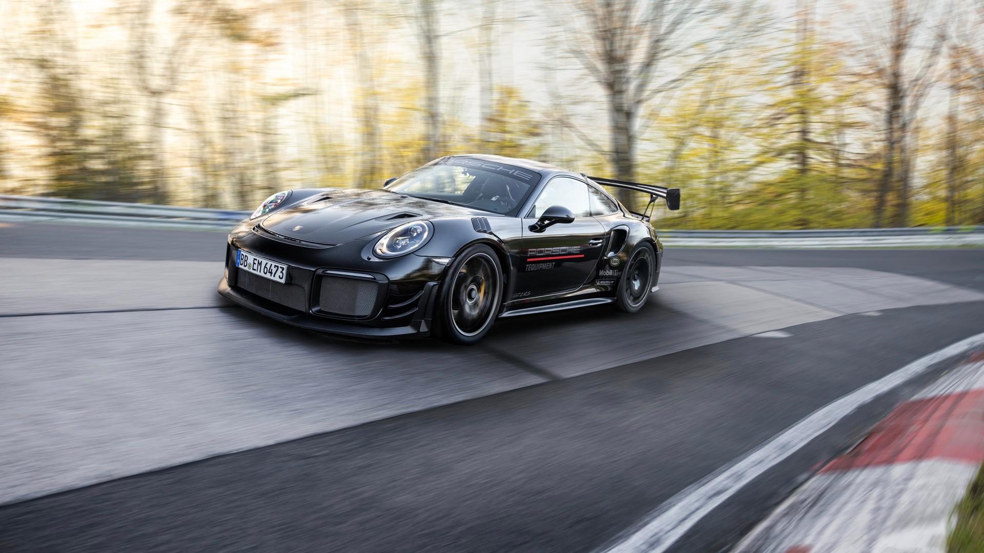 Tuningowane Porsche 911 GT2 RS z rekordem na Nürburgringu