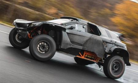 Premiera Audi RS Q e-tron na Dakar
