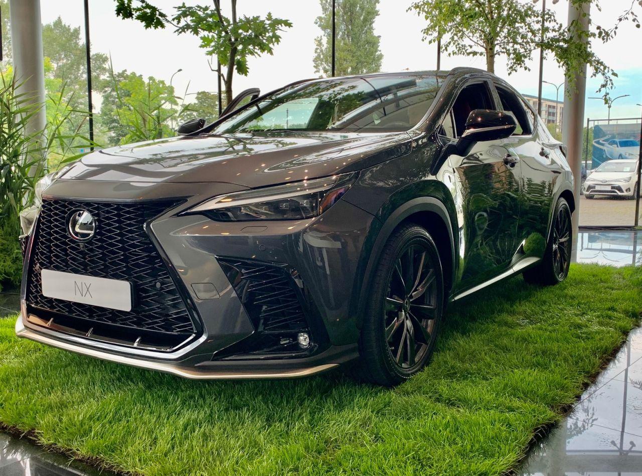 Nowy Lexus NX w Polsce