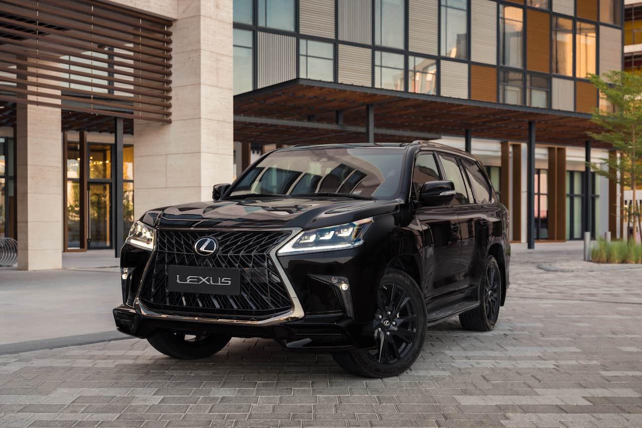Nowy Lexus LX bardzo blisko?