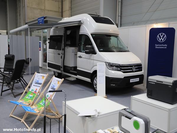 VW Grand California na targach Caravans Salon Poland 2021