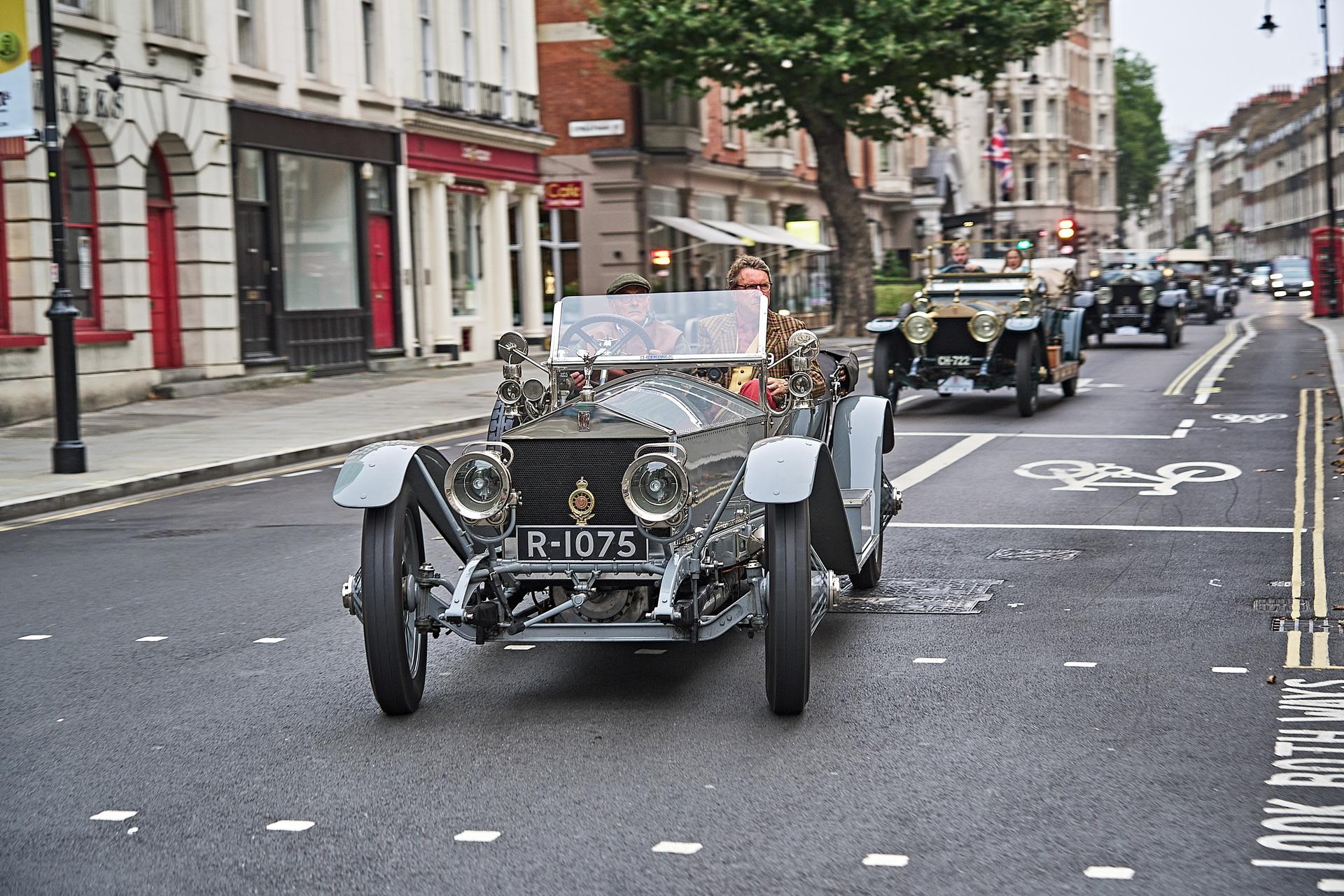 110-letni Rolls-Royce Silver Ghost znów zaskakuje