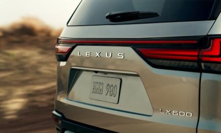 Nowy Lexus LX oficjalnie