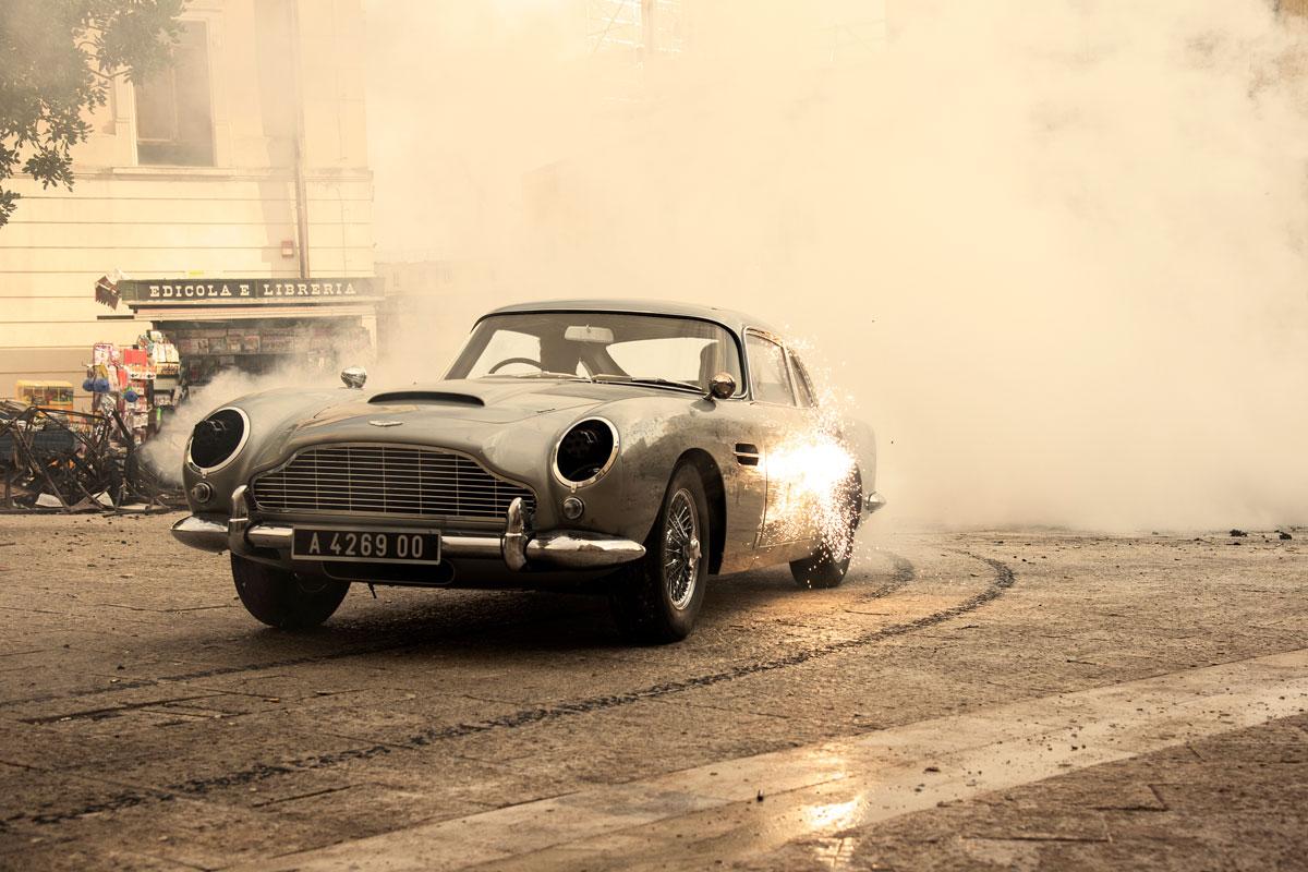 Aston Martin DB5 – znów w akcji