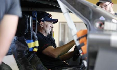 Stéphane Peterhansel - W Audi na Dakar