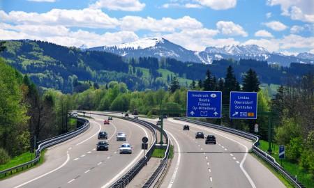 Niemieckie autostrady z winietami