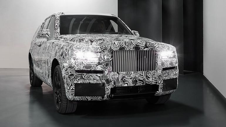 Rolls-Royce Cullinan, czyli SUV