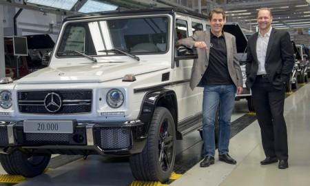 Mercedes Klasy G - 20 tysięcy egzemplarzy w mniej niż rok