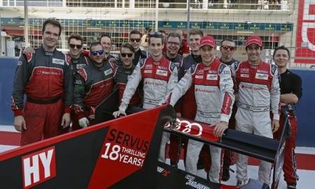 Audi żegna serię wyścigów FIA WEC podwójnym zwycięstwem