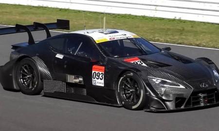 Lexus LC GT500 na torze Autopolis
