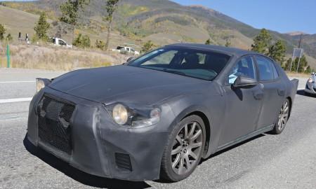 Nowy Lexus LS – pierwsze testy