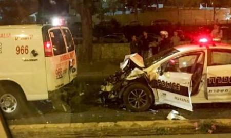 Kolizja aut z kolumny polskiej delegacji w Izraelu