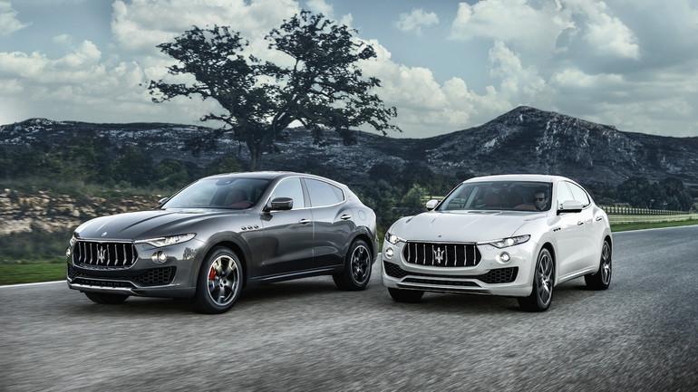 Maserati Levante z oponami Bridgestone