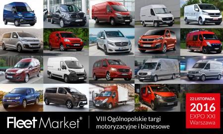 Samochody użytkowe na targach Fleet Market 2016