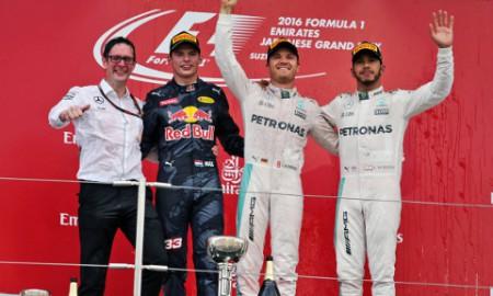 Nico Rosberg najszybszy na torze Suzuka
