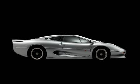 Jaguar XJ220 z nowymi oponami od Bridgestone
