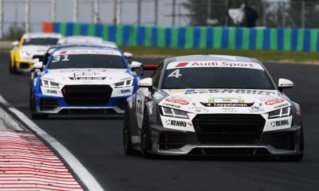 20-latek zwycięzcą Audi Sport TT Cup na Hungaroringu