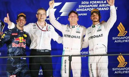 Nico Rosberg liderem F1