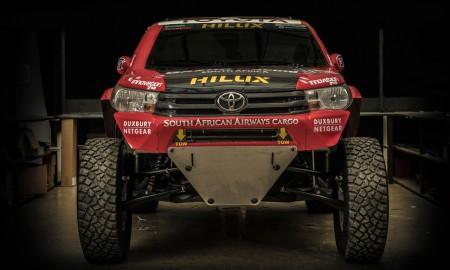 Toyota Hilux Evo rusza na Rajd Dakar 2017