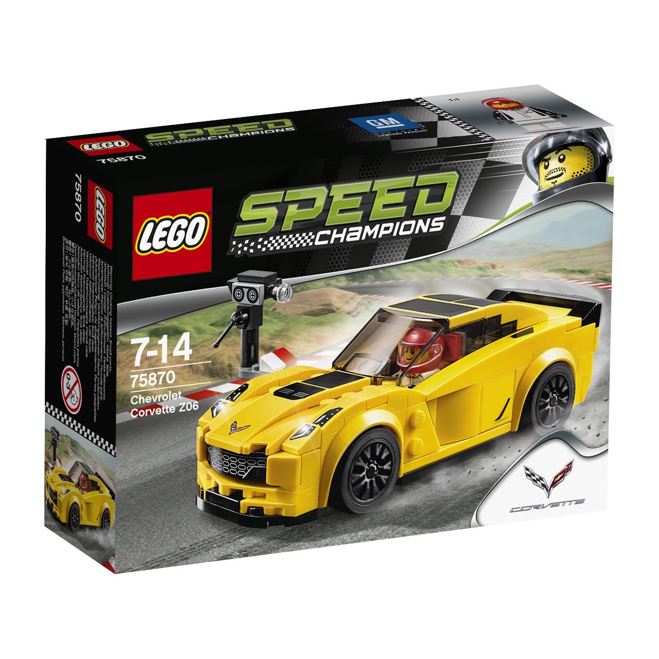 Wyścigowa kolekcja LEGO