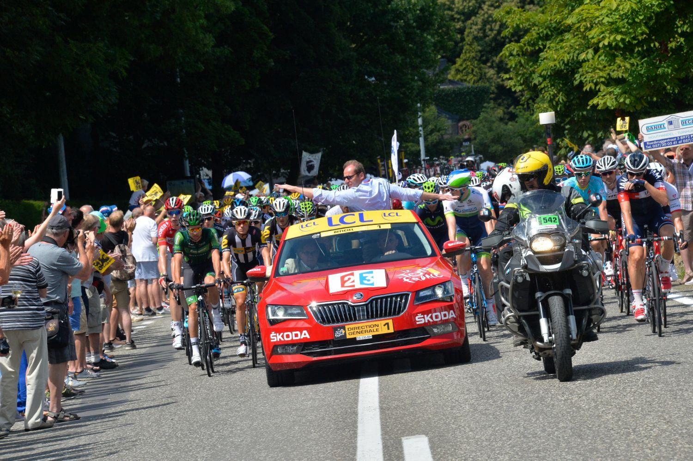 Skoda i Tour de France