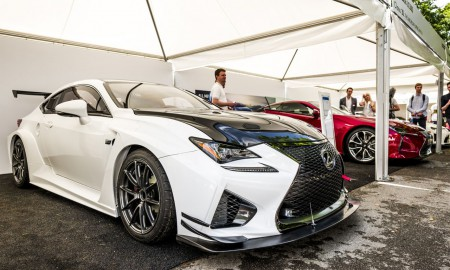 Lexus LFA w Goodwood