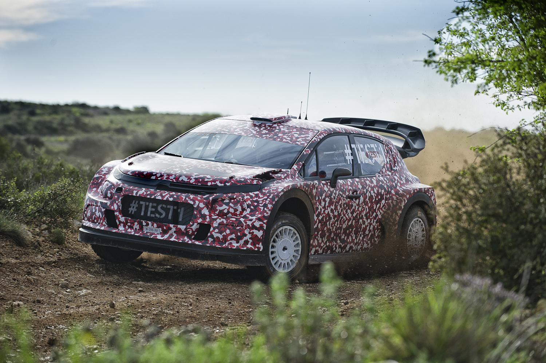 Citroën Racing rozpoczyna testy modelu WRC na sezon 2017