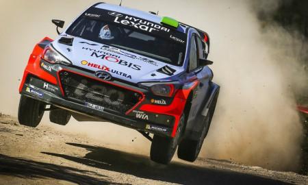 Hayden Paddon triumfuje w Argentynie