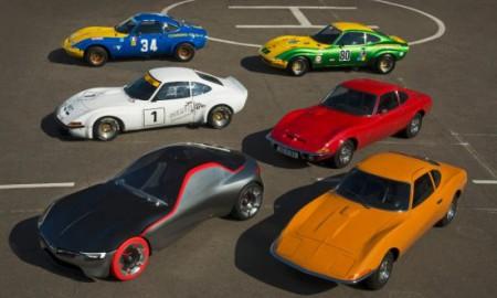 Studyjny Opel GT Concept na Techno Classica