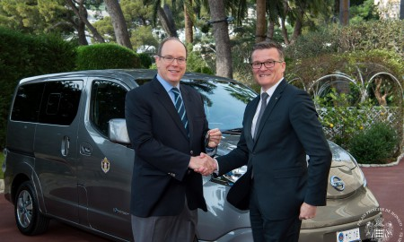 Bezemisyjne Nissany e‑NV200 dla Pałacu Monako