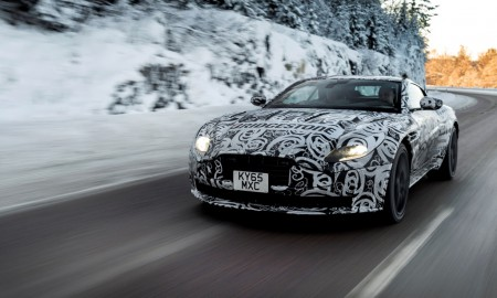 Aston Martin DB11 na torze Bridgestone