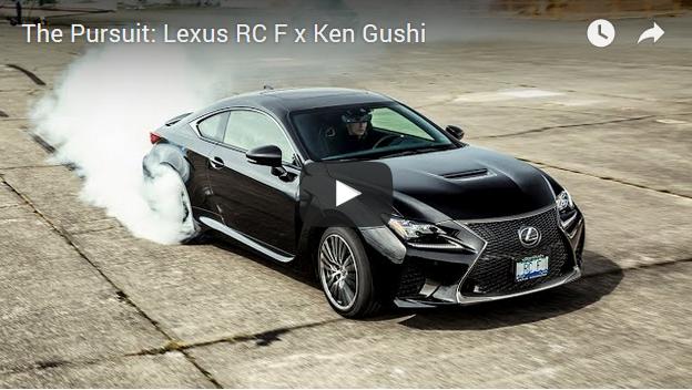 Ken Gushi w Lexusie RC F