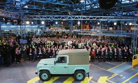 Land Rover Defender - pożegnanie
