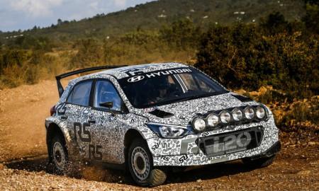 Hyundai Motorsport testował nowe auto