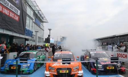 Potrójne zwycięstwo Audi w finale DTM