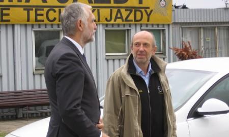 Minister Środowiska w Akademii Jazdy Opel