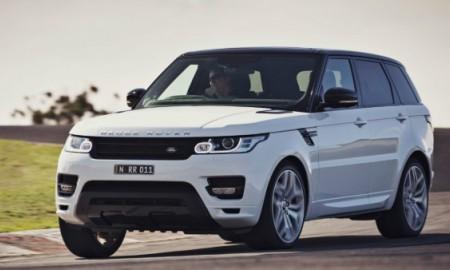 Range Rover z usterką