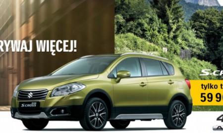 Suzuki SX4 S-Cross w nowej cenie