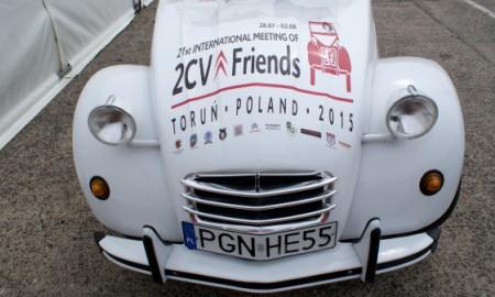 Światowy Zlot Miłośników Citroëna 2CV w Toruniu