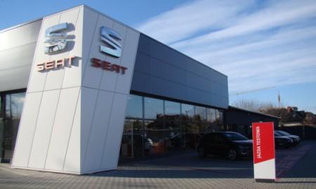 Nowy salon Seata w Szczecinie