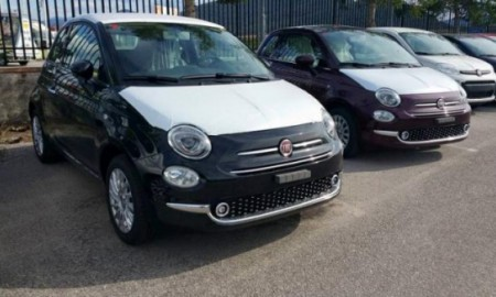 Fiat 500 bez kamuflażu
