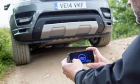 Range Rover Sport ze zdalnym sterowaniem