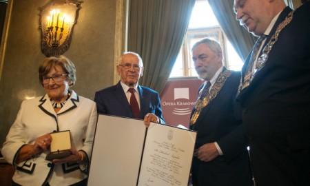 Sobiesław Zasada uhonorowany przez władze Krakowa