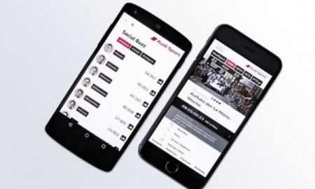Audi Sport z aplikacją na smartfony