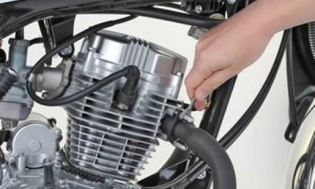 Motocykl gotowy na nowy sezon