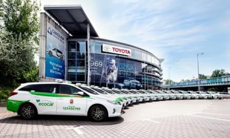 Największa hybrydowa flota taksówek