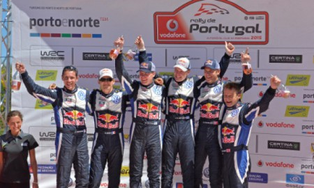 Rajd Portugalii – podium VW